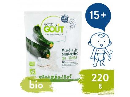 Good Gout BIO Cuketové rizoto s kozím sýrem 220 g