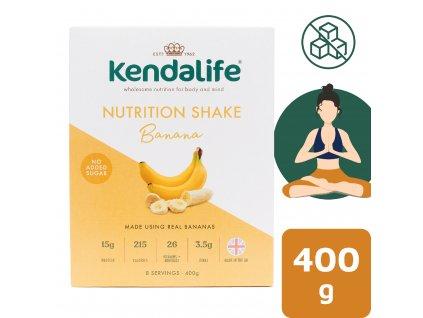 Kendalife proteinový nápoj banán 400 g