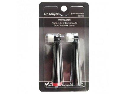 Dr. Mayer RBH10BLK Nahradni hlavice pro modely GTS1050 cerna 2ks