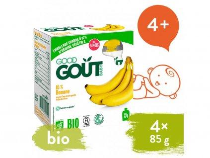 good gout bio banan 4x85 g 1