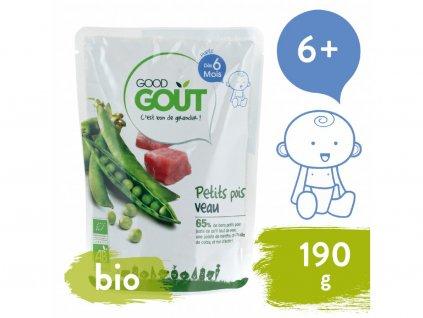 good gout bio hrasek s telecim masem 190 g 1