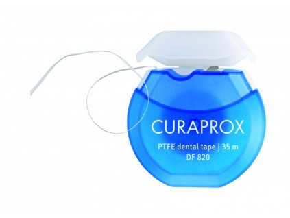 curaprox df 820 floss tape zubni paska s chlorhexidinem 35 m2