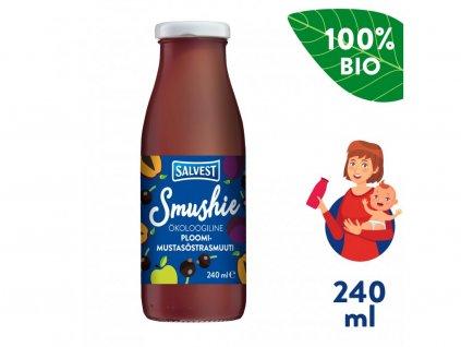 salvest smushie bio ovocne smoothie s cernym rybizem a svestkami 240 ml 1