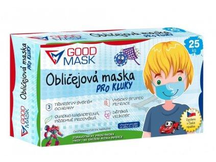 detske ochranne rousky pro kluky 25 ks modra barva 1 (1)