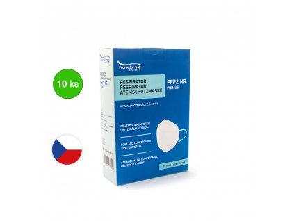 respirator FFP2 Promedor24 NR PRIMUS 10Ks cesky vyrobce predni pohled