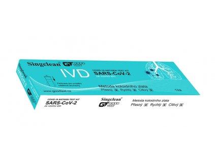 SINGCLEAN COVID 19 antigenní test ze vzorku slin 1 ks