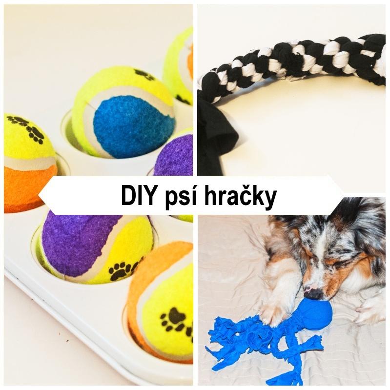 DIY psí hračky