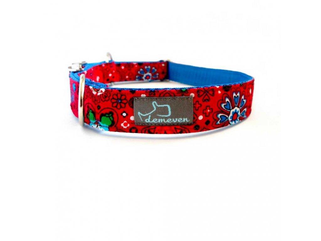 Essence Obojky pro psy obojek krasny stylovy designovy demeven s kovovou sponou dog collar beautiful stylish pink violet ruzovy fialovy psi obojek