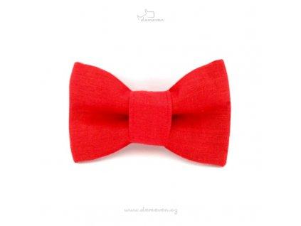 vyr 90Motylek cerveny Motylek pro psy psi obojek s motylkem krasny stylovy designovy dog bow tie beautiful stylish design demeven