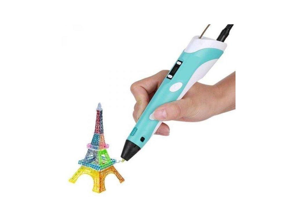 Profesionální 3D pero s LCD displejem (Barva Žlutá)