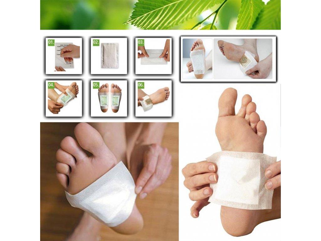 detoxikace noh a postizenych miest