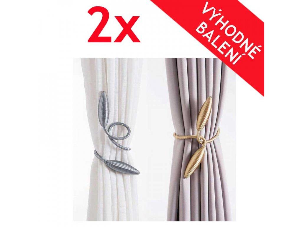 luxusni spony na zavesy 2x
