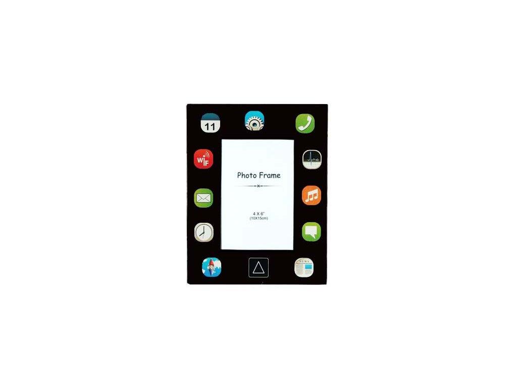 Fotoramecek-iPad---cerny-na-Deminas