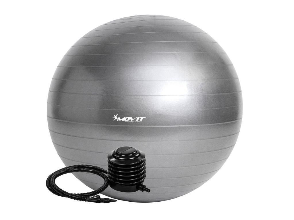 Gymnasticky-mic-MOVIT-s-pumpou---85-cm---stribrny-na-Deminas