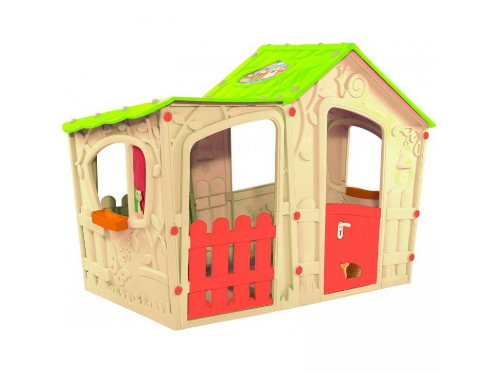 Hraci-detsky-domecek-MAGIC-VILLA-PLAY-HOUSE---bezovy-na-Deminas
