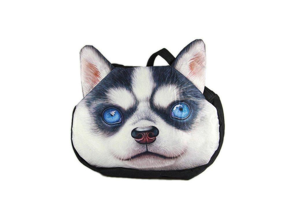 3D-kabelka-pes---Husky-na-Deminas