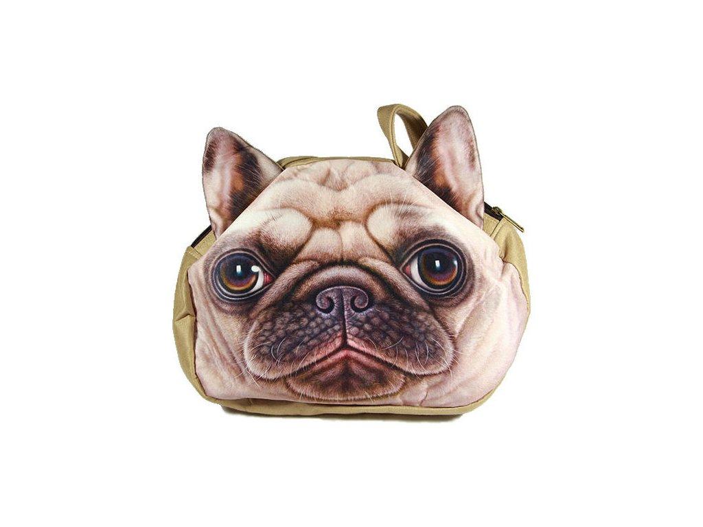 3D-kabelka-pes---Mops-na-Deminas