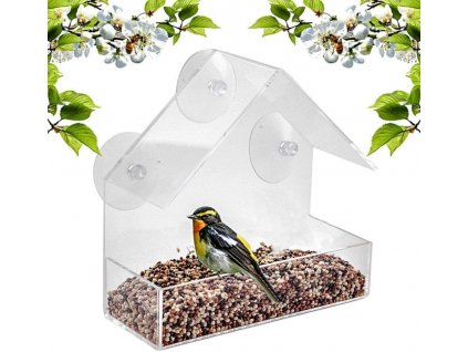 krmitko pro ptaky na okno