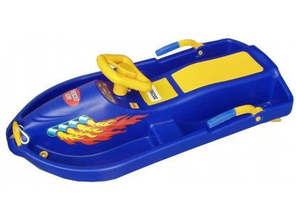 Riditelny-bob-Snow-Boat---modry-na-Deminas