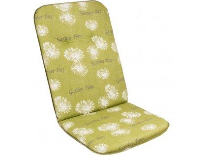 Sedak-na-vysoke-kreslo-SCALA-HOCH-zelena-kvetina-30368-211-na-Deminas