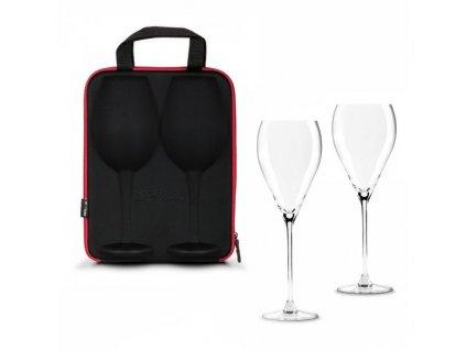11273 slavnostni obri sklenice na vino 2ks v darkovem pouzdru