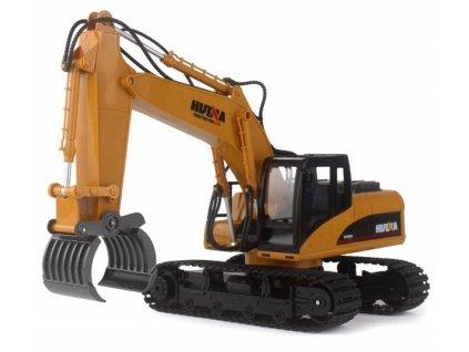 Stavebni-stroj-HN570-s-kovovym-drapakem-1:14-na-Deminas
