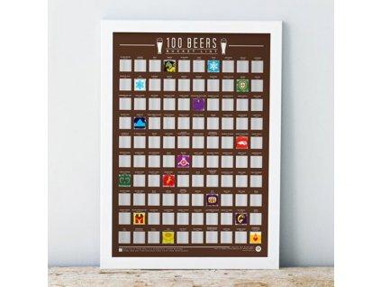 11681 stiraci plakat 100 nejlepsich piv na svete bucket list