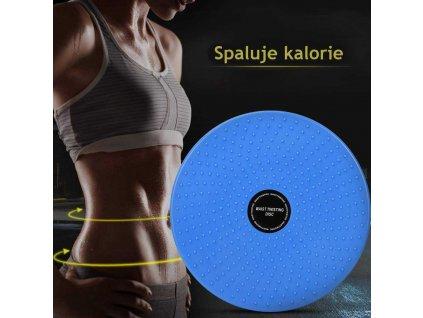 rotacni disk spaluje kalorie