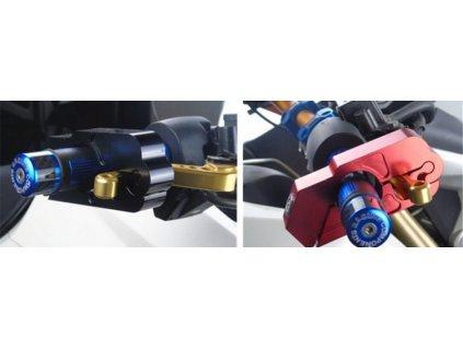 Zámek na řidítka motorky nebo kola (Varianta modrá)