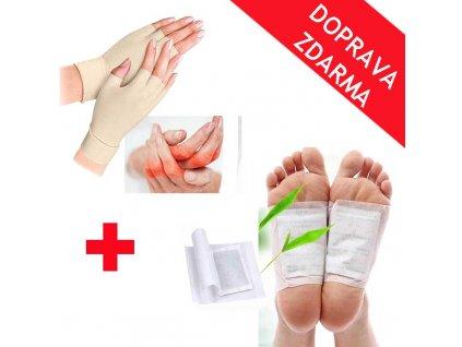 rukavice pro revmatiky + detoxikacni naplasti