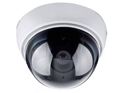 14648 maketa bezpecnostni kamery na stenu led dioda 2 x aa