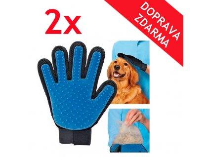vycesavacie rukavice 2x
