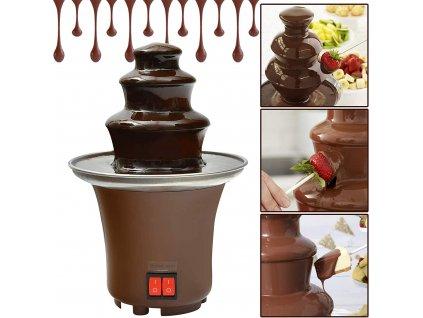 unikatni fontana na cokoladu