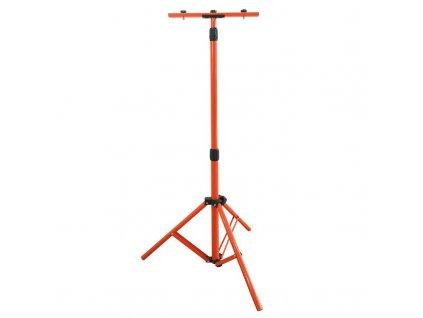 15575 solight stojan teleskopicky pro led reflektory 60 150cm pro 1 2 reflektory oranzova barva
