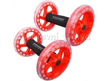 9783 posilovaci kolecko twin core ab wheel