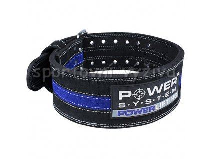 PowerSystem opasek (Varianta POWERLIFTING-blue-xl-95-114cm)
