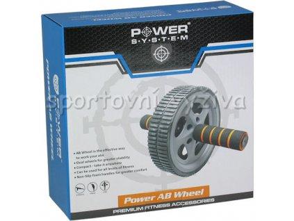 9621 powersystem posilovaci kolecko power ab wheel