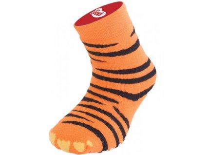 Dětské bláznivé ponožky (Varianta zebra)