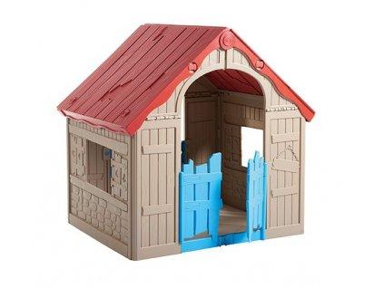 Detsky-hraci-domek-FOLDABLE-PLAYHOUSE---bezovy-na-Deminas