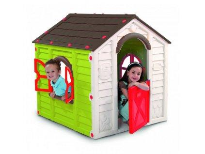 Detsky-hraci-domek-RANCHO-PLAYHOUSE---zeleny-na-Deminas
