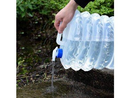 unikatni skladaci kanystr na vodu