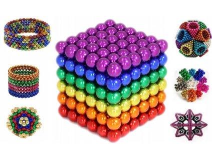 Jedinečné magnetické kuličky - 5mm
