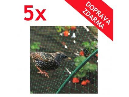 kvalitni ochranna sit proti ptakum 5x