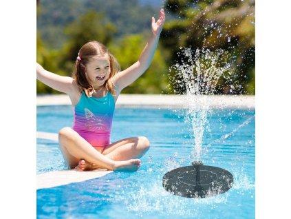 plavouci solarni fontana do jezirka