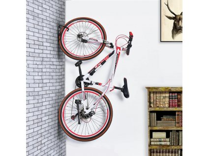 unikatny drzak na kolo na zed