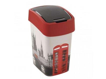 FLIPBIN-odpadkovy-kos-25l---LONDYN-CURVER-na-Deminas