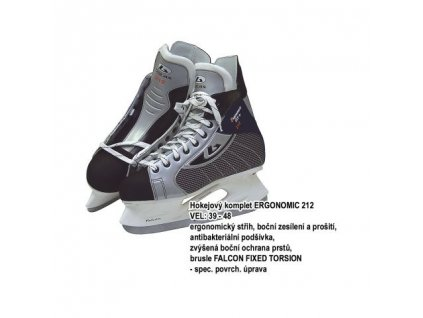 Hokejove-brusle-Botas-ERGONOMIC-212,-vel.-39-na-Deminas