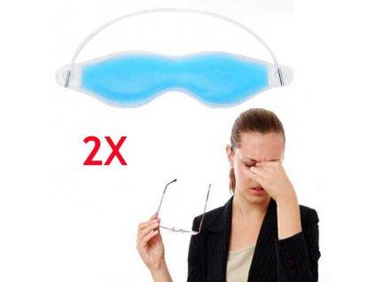 Chladicí gelová maska na unavené, oteklé a bolavé oči