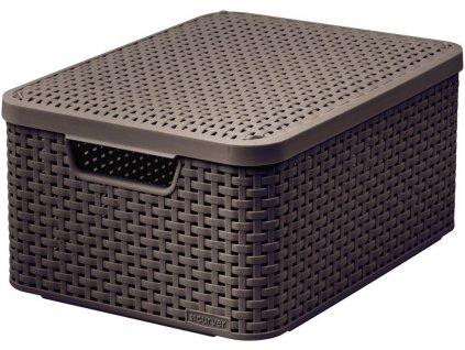 Kosik-box-s-vikem---M---tm.-hnedy-CURVER-na-Deminas
