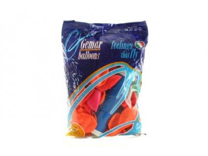 Balonky-fluorescencni-100-ks-+-pumpa-na-Deminas